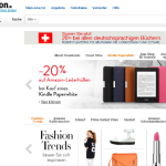 Amazon online Shop – Schweiz