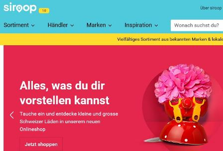 Siroop online Shop