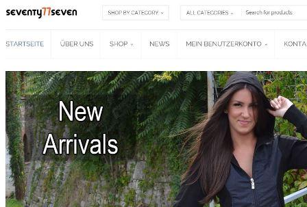 Seventy Seven online Shop