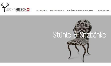 m bel online shop wohnhirsch shop. Black Bedroom Furniture Sets. Home Design Ideas
