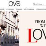 OVS online Shop Schweiz