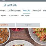Lidl Kochbox Schweiz